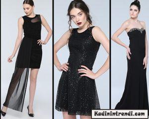 Siyah Abiye Elbise Modelleri 2016-1