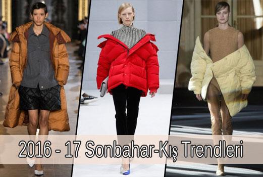 2016 – 2017 Sonbahar-Kış Moda Trendleri
