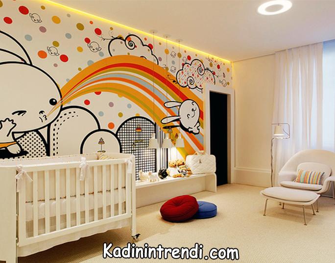 bebek odasi dekorasyon fikirleri