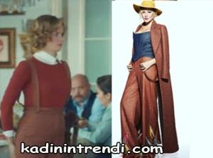 10135 hayat sarkisi dizisi 34 bolum hulya askılı kırmızı pantolon markası