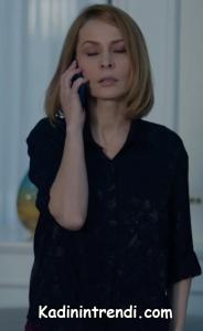 Kara Sevda 48 Bölüm Vildan Nihan ın annesi Siyah gömlek