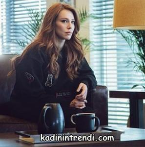 Kiralık aşk 65 bölüm dizi kıyafetleri Elçin Sangu defne siyah switsort