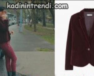 sühanın giydiği ceket