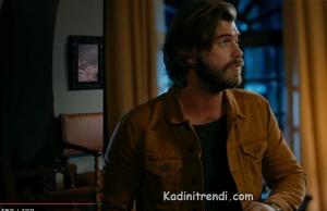 Cesur ve Güzel dizi kıyafeti 5.bölüm Kıvanç Tatlıtuğ- Taba gömlek markası Mudo.