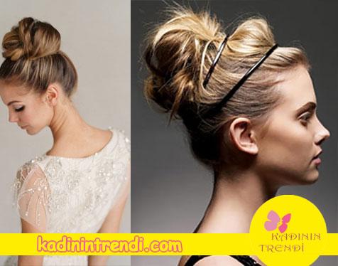 2017 Saç Modelleri ve Balerin Topuzu
