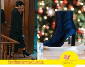 Cesur ve Güzel dizisinde Sühanın giydiği topuklu çizme İnci Deri marka