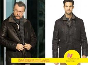 Cesur ve Güzel Tahsin karakterinin giymiş olduğu deri ceket markası Derimod