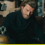 cesur ve güzel 9 bölümde cesurun giydiği siyah boğazlı triko kazak.