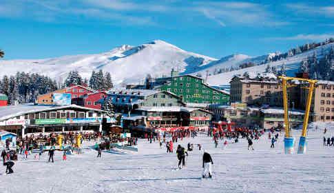 yarıyıl tatili Uludağ kayak