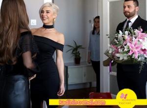 İçerde-23-bölüm-dizi-kıyafetleri-Yeşim Siyah kayık yaka elbise hangi marka