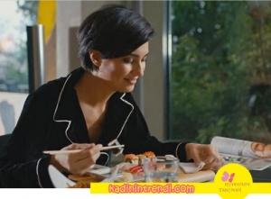 Sühanın giydiği siyah pijama takımı Zeynep Meltem Aktaş marka
