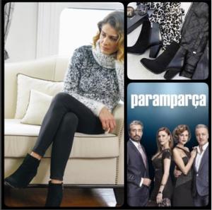 Paramparça-dilara-kırçıllı-kazak-ve-siyah-havuç-pantolon-altına-giydiği-Siyah-çizmeler-Shoes-House-Marka