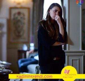 İsyanbullu Gelin Süreyya Siyah yarım kol kazak hangi marka