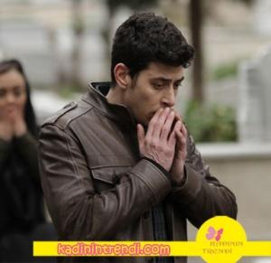 Aşk Ve Gurur 3 bölüm kıyafetleri Murat kahve rengi deri ceket markası açıklanacak.