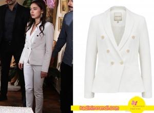 Cesur-ve-Güzel-Dizi-Kıyafetleri-Nihanın-giydiği-beyaz-blazer-ceket-Forever-New-marka