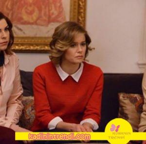 Hayat Şarkısı Hülya Kıyafetleri hayat Şarkısı Hülya kırmızı kazak markası açıklanacak