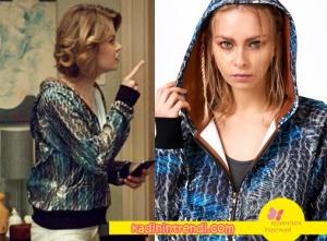 Hayat Şarkısı Hülya nın giydiği parlak Sweatshirt Eda Erdoğan markadır