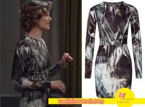 Hayat Şarkısı Hülya siyah beyaz desenli elbisesi markası Outkastpeople