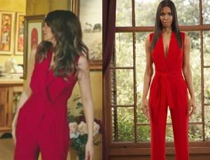 Adı Efsane Seçil karakterinin giydiği kırmızı tulumun markası Gülnur Güneş