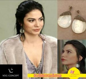 No-309-36-Bölüm-Dizi-Kıyafetleri-Demet-Özdemir--Lalenin-küpeleri-VOG-Corcept-markadır