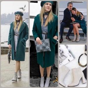 Paramparça 95 bölüm dizi kıyafetleri Hazalın gri ayakkabıları Shoeshouse marka