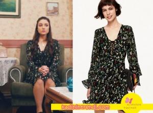 içerde dizisinde Eylemin giydiği çiçek desenli elbise markası Twist