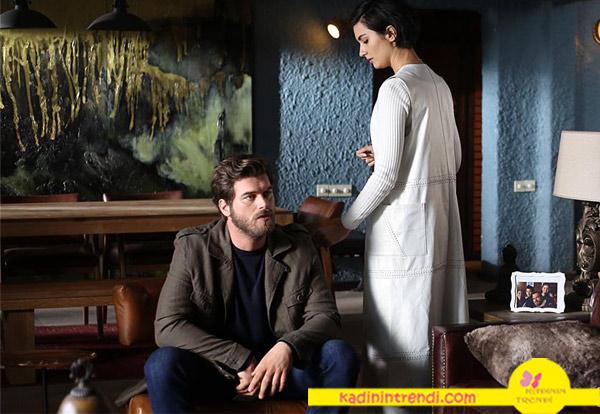 Cesur ve Güzel 21 bölüm dizi kıyafetleri Cesur haki ceket ve Sühanekru uzun yelek Rack İstanbul Sponsorluğunda markası açıklanacak.