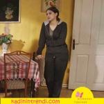 Fazilet Hanım ve Kızları 3. Bölüm Hazan karakterinin giydiği Siyah Eşortman Takımı