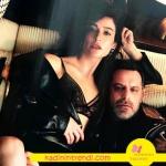 Fi dizisinin başarılı oyuncusu #BerrakTuzunatac, bu ay #VogueTurkiye sayfalarında #Eres siyah dantel sütyenle