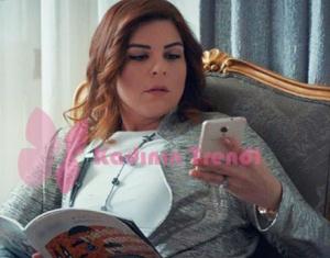 Hayat Şarkısı 49 bölüm Zeynep gri ceket batik ten