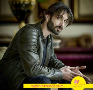 Kara Yazı Kıyafetleri Mehmet Karahan karakterinin deri ceketi Desa Fashion marka.