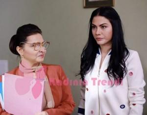 No 309 dizisinde Demet Özdemirin canlandırdığı karakter Lale Beyaz bomber ceket trendyol marka