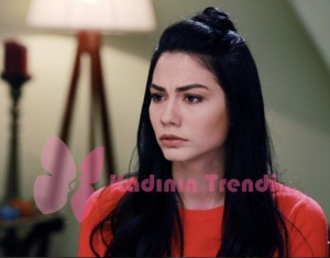 No 309 44 bölüm Lale turuncu triko kazak markası Batik