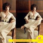 Voque dergisi için Fi dizi tanıtım fotoğraflarında Büşra Develi nin giydiği Tulum Raisa&Vanessa marka