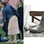 fİ 4 bölümde Duru nun giydiği gri çizmeler Elle Shoes