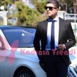 İstanbullu Gelin 11. Bölüm Dizi Kıyafetleri Faruk siyah takım elbise Ramsey marka