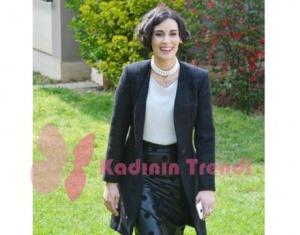 Hayat Şarkısı Melisa Sözen İpek siyah etek markası Esra Gürses