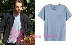 İçerde 33. Bölüm Mert karakterinin giymiş olduğu tshirt markası H&M