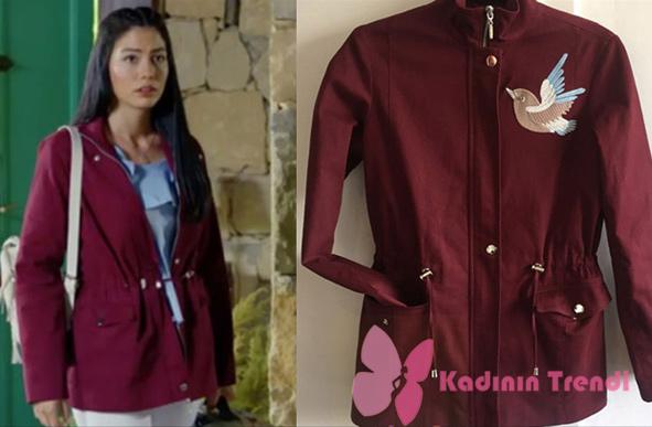 No 309 48. Bölümde Lale karakterinin giydiği ceket markası People By Fabrika