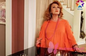Star tv. ekranlarında yayınlanan Türk Malı dizisinin 2. bölümünde Şaduman'ın giymiş olduğu bluz markası Herry.