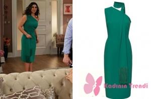 Star tv. ekranlarında pazar akşamları yayınlanan, Türk Malı dizisinin 2. bölümünde Şehnaz'ın giydiği yeşil elbise markası NgStyle.