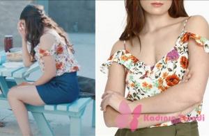 içerde 39. bölüm Eylem çiçekli bluz ADL marka