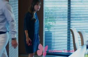 Dolunay 2. bölüm Nazlı lacivert tişört elbise Zara marka
