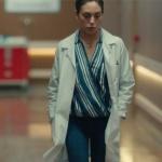 Kalp Atışı dizi kıyafetleri 9. bölüm Eylül mavi beyaz çizgili bluz nereden markası araştırılıyor.
