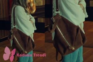 İstanbullu Gelin Süreyya kahve rengi sırt çantası hangi markaİstanbullu Gelin Süreyya kahve rengi sırt çantası hangi marka