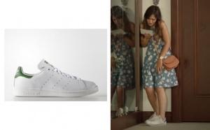 Ateş Böceği 5. bölümde Aslının giydiği beyaz spor ayakkabı Adidas marka