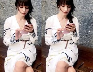 Dolunay Nazlı Beyaz Elbise markası araştırılıyor.