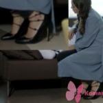 Kalp Atışı Eylül siyah ayakkabı hangi marka Hotiç Marka