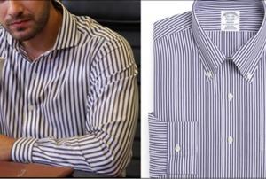 No 309 son bölümde, Onur'un giydiği siyah beyaz çizgili gömlek markasıBrooks Brothers
