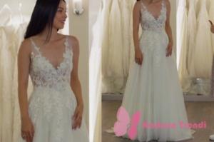 Rüya dizisinde Elif 'in giydiği gelinlik markasıZüleyha Kuru.